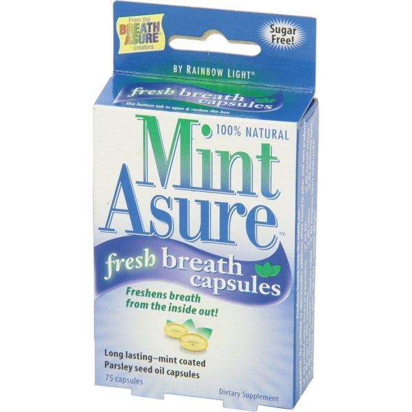 MintAsure Fresh Breath Capsules 160 ea