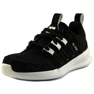 Adidas SL Loop Runner C Youth Round Toe Synthetic Black Sneakers