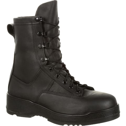 Rocky Entry Level Hot Weather Black Steel Toe Military Boot RKC058