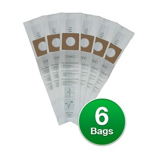 """Replacement Vacuum Bag for Royal Upright D / 123SW (2-Pack) Replacement Vacuum Bag"""