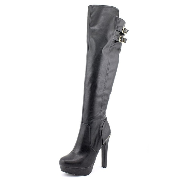 Material Girl Womens Rozie Closed Toe Knee High Fashion Boots Fashion Boots