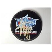 Signed Kariya Paul 2001 NHL AllStar Hockey Puck autographed