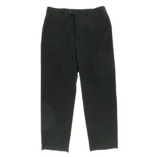 Sean John Mens Wool Blend Flat Front Dress Pants