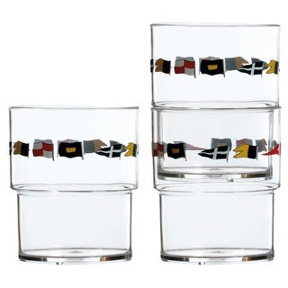Regata Stackable Glass - Set of 12