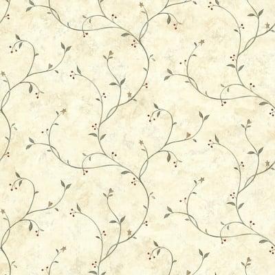 Peyton Green Tin Star Trail Wallpaper - 20.5in x 396in x 0.025in