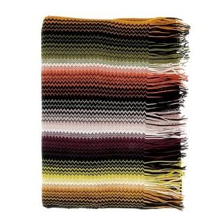 Link to Missoni Khaki  Long Fine Zigzag Fringe Scarf - 17/20-71 Similar Items in Scarves & Wraps