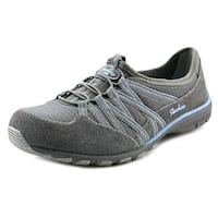 Skechers Conversations-Holding Aces Women Round Toe Synthetic Gray Walking Shoe