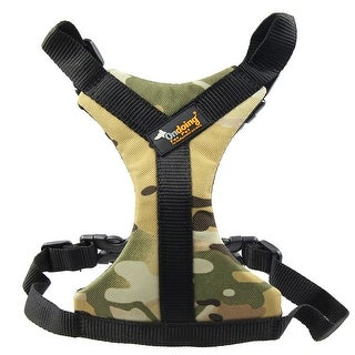 Ondoing Authorized Adjustable Oxford Fabric Dog Harness Pet Halter Camou (4 options available)