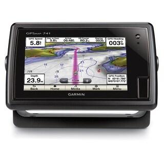 Garmin GPSMAP 741 Fishfinder & Chartplotter w/ Preloaded US LakeVü HD maps & BlueChart g2 charts