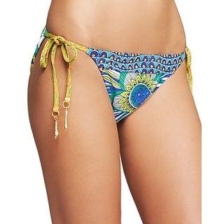 Trina Turk NEW Blue Women's Size 10 Bikini Bottom Swimwear