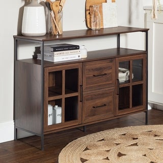 Link to Carbon Loft 48-inch Industrial 3-Door Buffet Similar Items in Dining Room & Bar Furniture