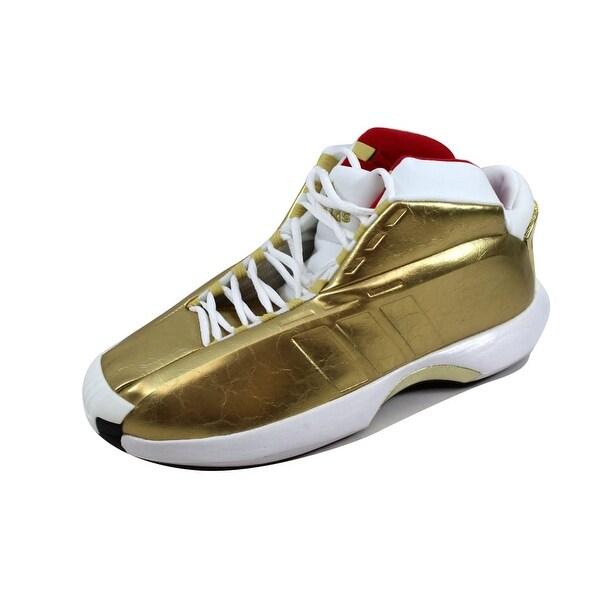 Adidas Men's AS SMU Crazy 1 Metallic Gold/Metallic Gold C76216 Size 11