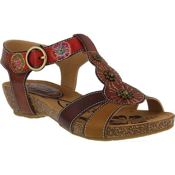 ce651d7a640e3 Shop L Artiste by Spring Step Women s Hemlock Strappy Sandal Brown ...
