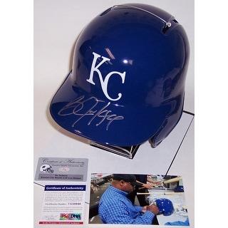 Bo Jackson Autographed Hand Signed Kansas City Royal Full Size Batting Helmet - PSA/DNA