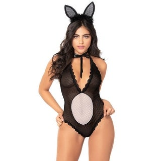 Hoppy Place Lingerie Costume - As Shown