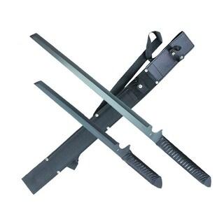 SG-SC5566 2Pc Machete Set 26in/18in Overall Black