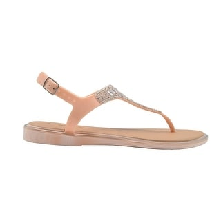 Link to Via Rosa Ladies Sandal Thong Slip On Shoe with Embellished Strap Similar Items in Women's Shoes