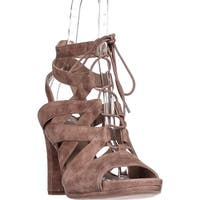 Via Spiga Collette Strappy Lace Up Sandals, Desert - 9 us / 39 eu
