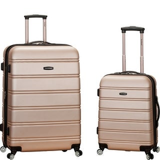 Rockland Melbourne 2-Piece Spinner Luggage Set