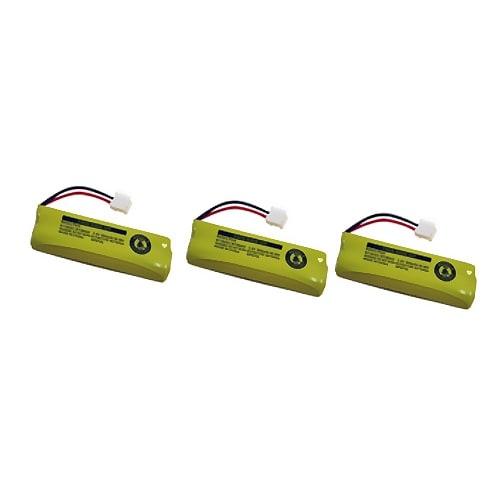Replacement VTech LS6125 / LS6225-2 NiMH Cordless Phone Battery - 505 mAh / 2.4V -3Pack