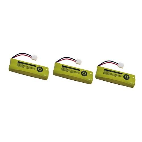 Replacement VTech LS6204 / LS6225-3 NiMH Cordless Phone Battery - 506 mAh / 2.4V -3Pack