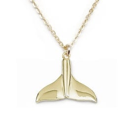 Julieta Jewelry Whale Tail Charm Necklace
