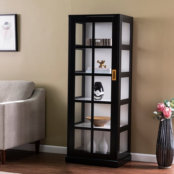Burney Tall Curio Cabinet. Opens flyout.