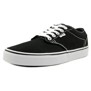 Vans Atwood (Oxford) Women Round Toe Canvas Black Skate Shoe