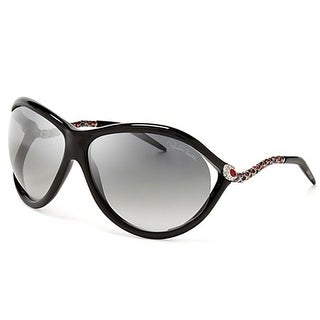 Roberto Cavalli RC853S-01B Women's Shiny Black Gradient Smoke Lens Sunglasses