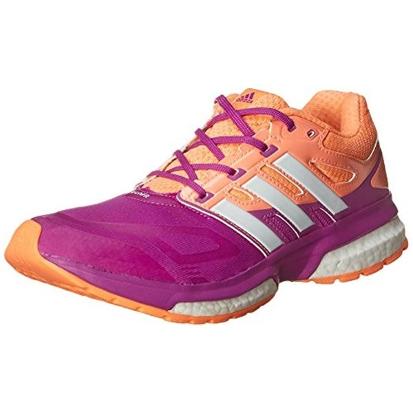 Adidas Girls Response Boost Techfit Running Shoes Youth Girls Colorblock