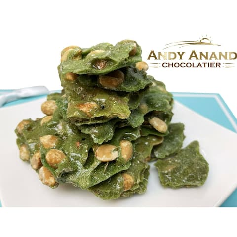 Andy Anand Jalapeno Peanut Brittle Gift Box & Greeting Card 1 lbs