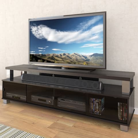 """CorLiving Bromley Wooden TV Stand, for TVs up to 95"""""""