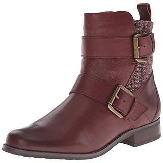 Aetrex Womens Kara Leather Knit Trim Riding Boots - 5.5 medium (b,m)