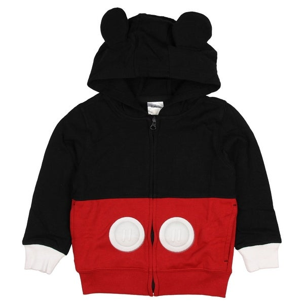 Shop Disney Mickey Mouse Toddler Boys Costume Hoodie Jacket Free