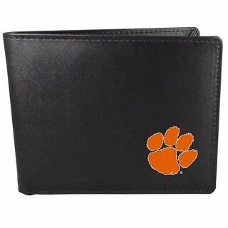 Clemson Tigers Bi-fold Wallet Black - ID Window - Bifold