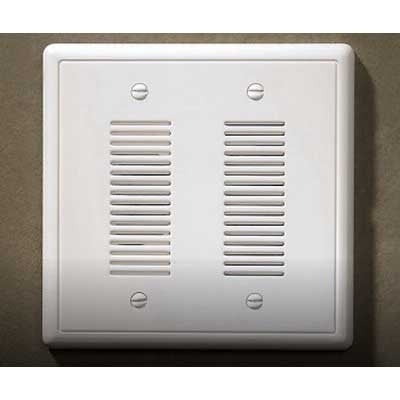 Nicor Lighting ECSBPB Wired Lighted Stucco Push Button For Prime Chime Door  Bell Kit   Polished