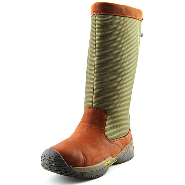 Sebago Marine Squall Women  Round Toe Canvas Green Rain Boot