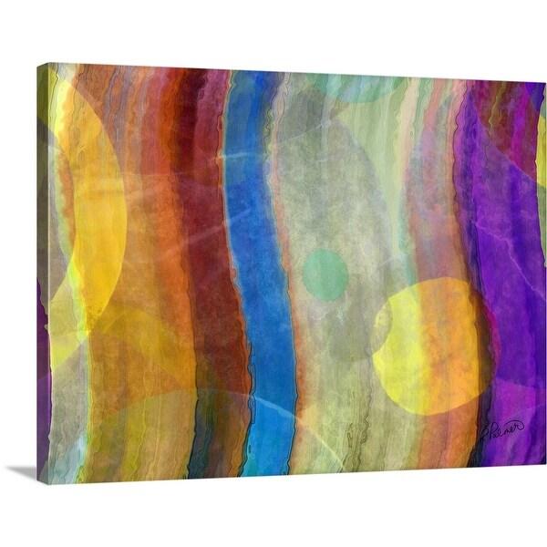 """Elusive Yellow"" Canvas Wall Art"