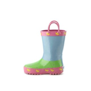 Peppa pig Girls PAXT448-DW Ankle Pull On Rain Boots