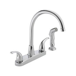 Peerless P299578LF Two Handle Kitchen Faucet, Chrome