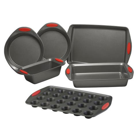 Rachael Ray Yum-o Nonstick Oven Lovin' Bakeware Set, 6-Piece