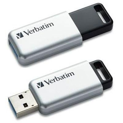 Verbatim 32Gb Store 'N' Go Secure Pro Usb 3.0 Flash Drive With Aes 256 Hardware Encryption 98665