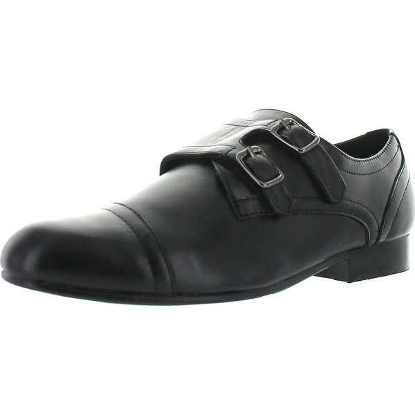 Venettini Boys 55-Baker4 Monk Strap Dress Shoe