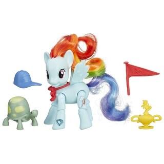 My Little Pony Explore Equestria Action Figure: Winning Kick Rainbow Dash - multi