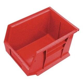 "Quantam QUS239RD Red Storage Bin, 10-3/4"" x 8-1/4"" x 7"""