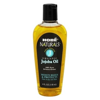 Hobe Laboratories Beauty Oil Jojoba 4-ounce