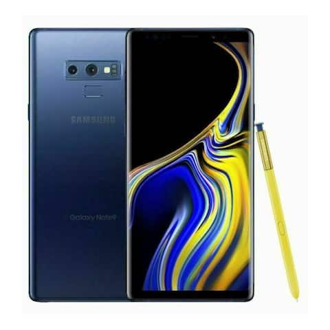 Samsung Galaxy Note 9 SM-N960 128GB Blue Sprint + GSM Unlocked Smartphone