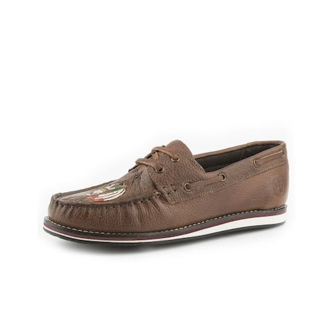Roper Casual Shoes Womens Filly Lace Moc Brown
