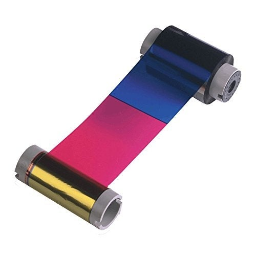 Fargo Electronics - Ymckk: Full-Color Ribbon With Two Resin Black Panels 500 Images