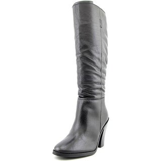 Matisse Raquel Women  Round Toe Leather Black Knee High Boot